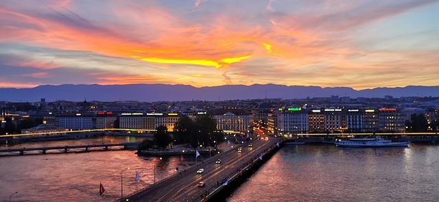 Genève, une ville pittoresque et emblématique